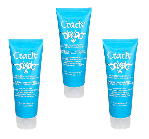 Crack Original Styling Creme 2.5oz - 3 Pack