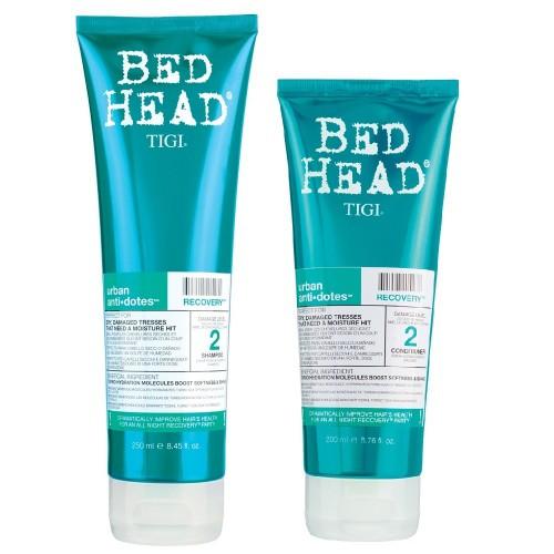 Tigi Bed Head Recovery Shampoo And Conditioner Duo 8.45oz/6.76oz