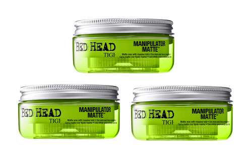 Tigi Bed Head Manipulator Matte Wax 2oz - 3 Pack