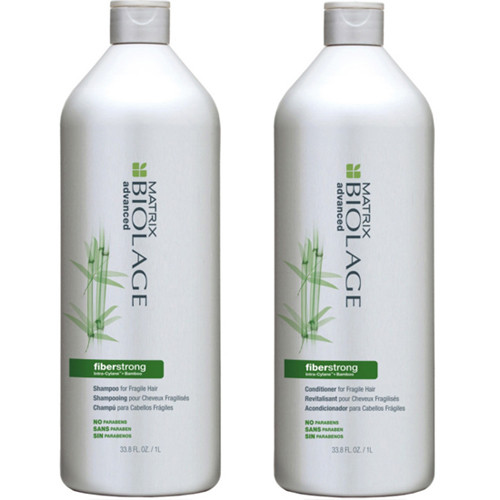 Matrix Biolage FiberStrong Shampoo and Conditioner Duo