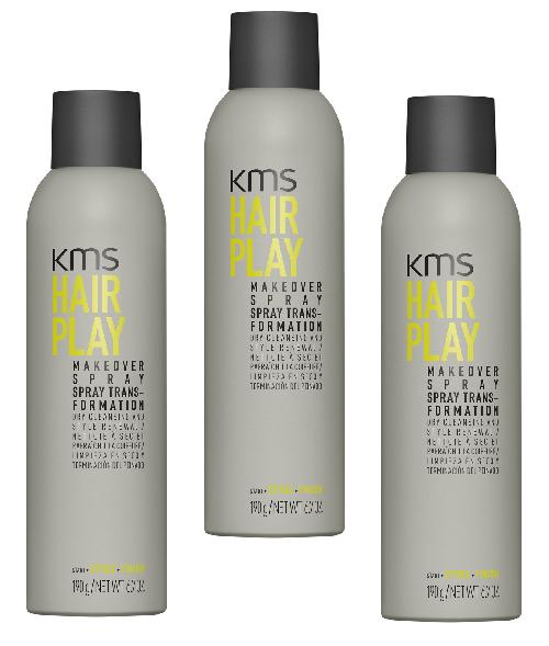 KMS HAIRPLAY Makeover Spray 6.7oz - 3 Pack