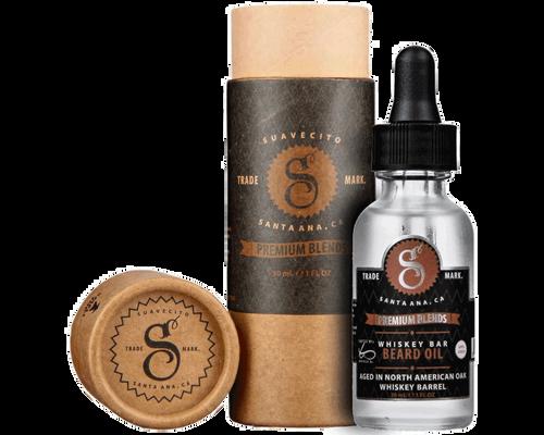 Suavecito Premium Blends Beard Oil Whiskey Bar 1oz