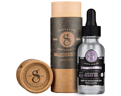 Suavecito Premium Blends Beard Oil Lavender 1oz