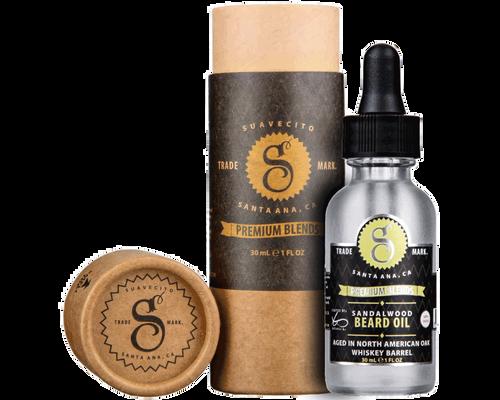 Suavecito Premium Blends Beard Oil Sandalwood 1oz