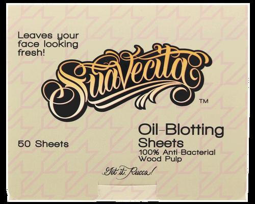 Suavecita Oil-Blotting Sheets Wood Pulp Oil 50 Sheets