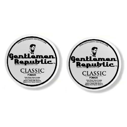 Gentlemen Republic Pomade Classic 8oz - 2 Pack