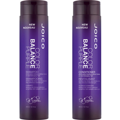 Joico Color Balance Purple Shampoo and Conditioner Duo