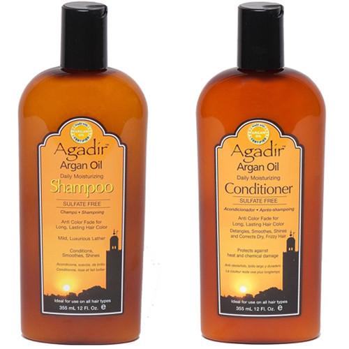 Agadir Argan OIl Daily Moisturizing Shampoo and Conditioner Duo