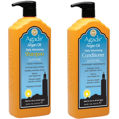 Agadir Argan OIl Daily Volumizing Shampoo and Conditioner Duo