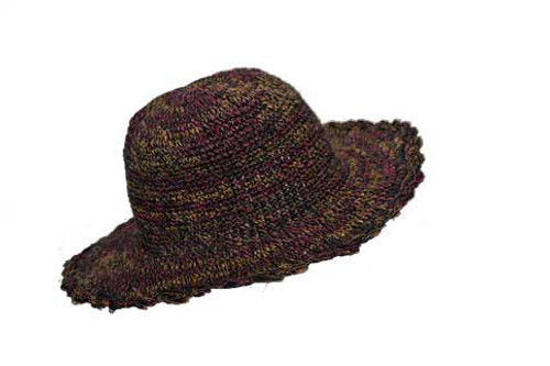 PHCS-C  -  Sun Hat with Secret Stash Pocket Asst Colors