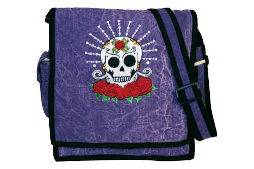 S7-3  -  Skull & Roses Cotton Bag