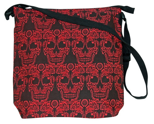 Large Bag with Awesome Skull Print