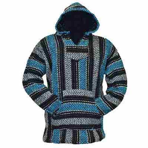 Baja Long sleeve jacket / hoodie - assorted colors: S, M, L, XL, XXL