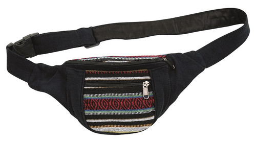 Festival Bag 3 zipper pockets