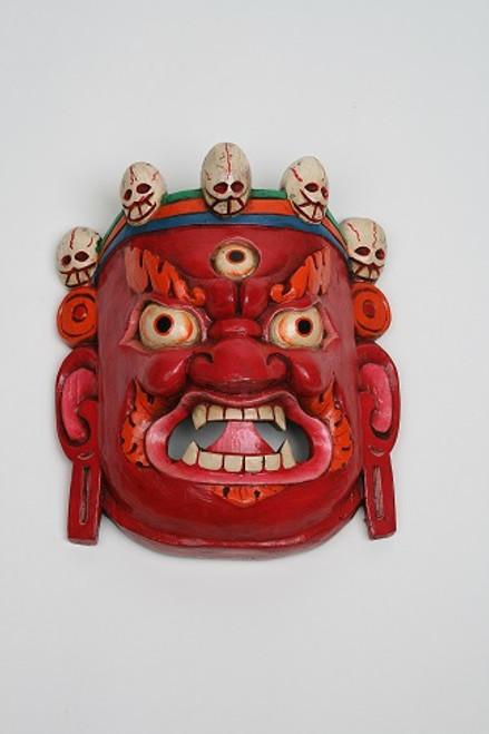 Traditional Nepalese Bairobi Mask. Made in Nepal