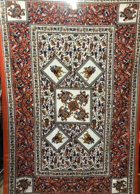 Camel Tapestry - 100% cotton single size