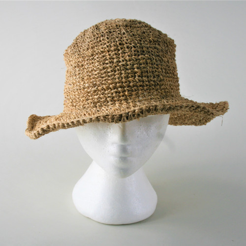 100% Hemp Hat w/ Secret Pocket