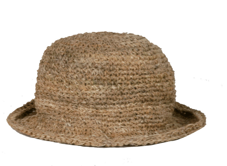 PHHN  - 100% Hemp Hat With Secret Pocket Assorted Colors