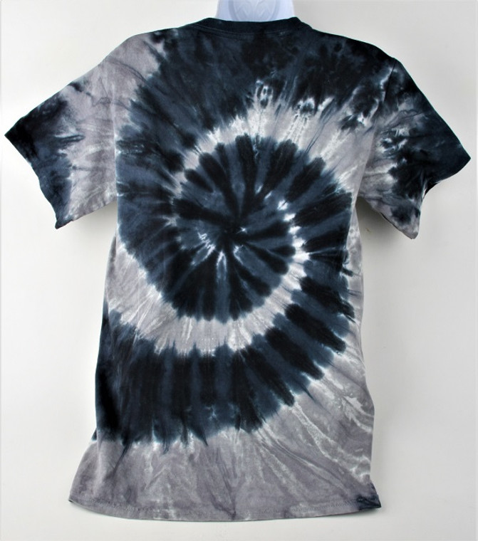 "100% Cotton Tie Dye - White Sox ""Steal Your Base"" - Liquid Blue"