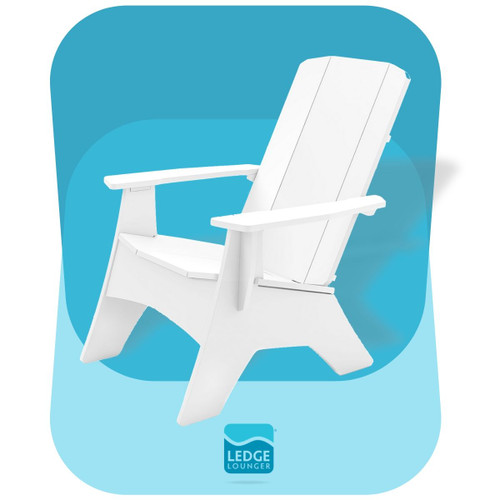 Mainstay Adirondack White Chair