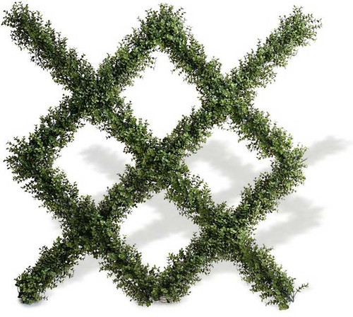 "Single Artificial Boxwood Panel 42"" x 42"""