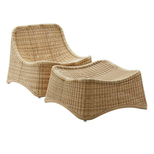 CHILL chair and Ottoman