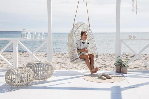Monet Swing on the Beach