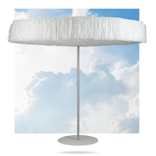 Frou Frou White Umbrella