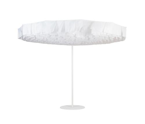 Bloom Parasol Umbrella White on White