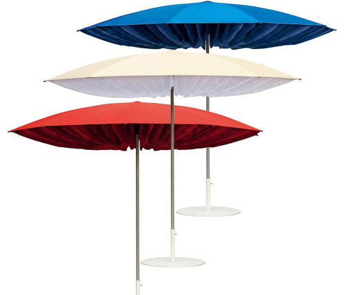 Luxury Paddo Umbrella in Red White or Blue
