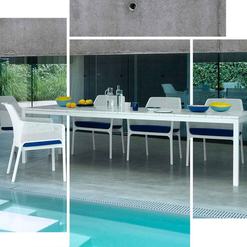 Rio Dining Set in White