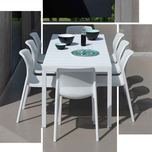 Rio Dining Table in White