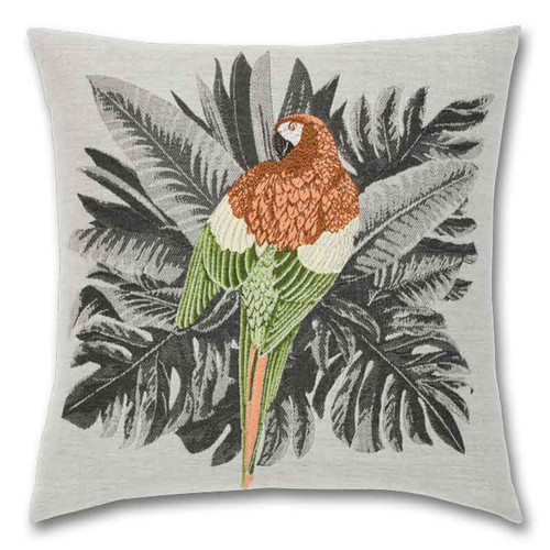 Macaw Outdoor Pillow
