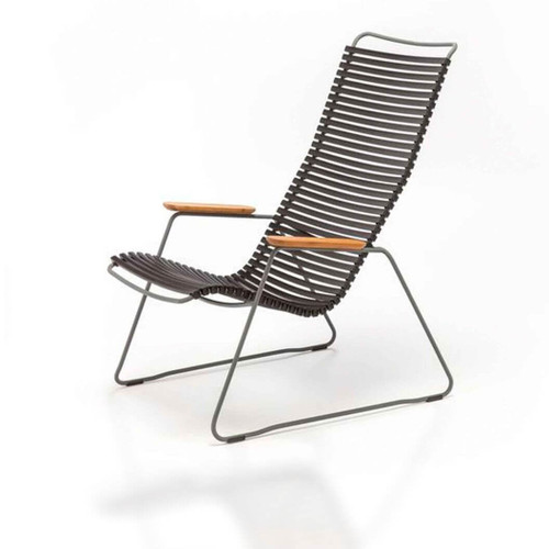 Click Lounge Chair in Black