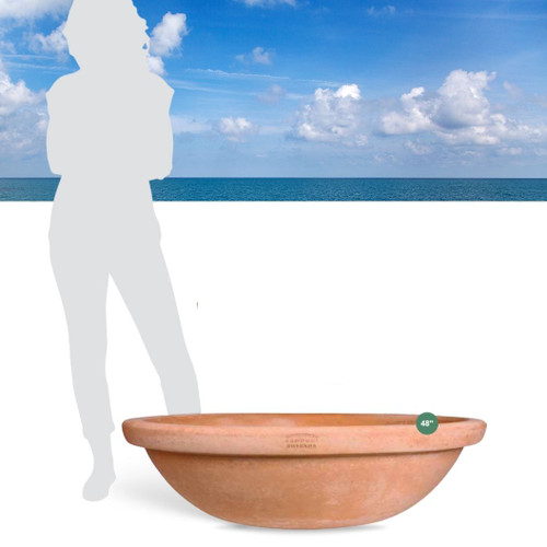Terracotta bowl giant