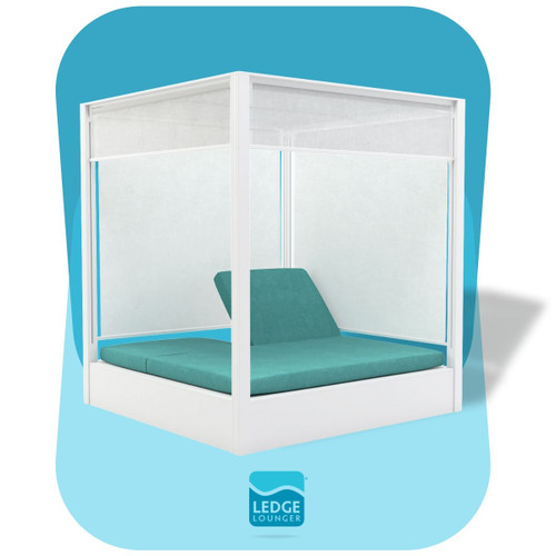 Ledge Lounger Shift Daybed with Mesh Sides