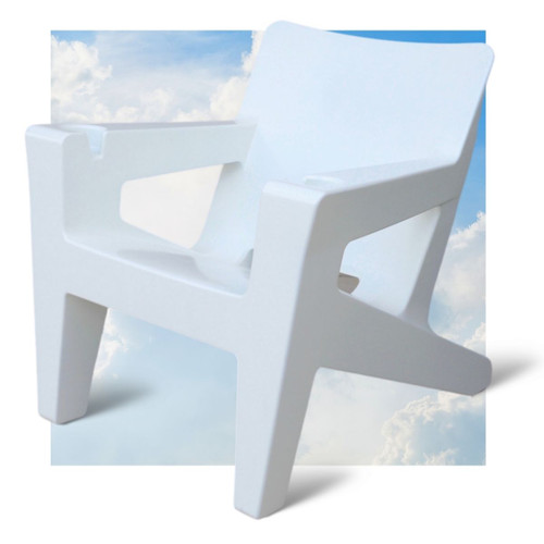 Costarondack In Pool Tanning Ledge Chair White