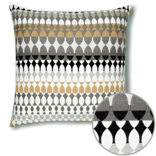 Modern Oval Dune Pillow Detail