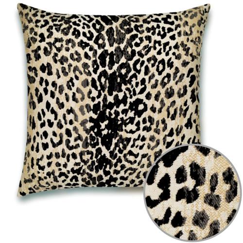 Wild One Onyx Pillow Detail