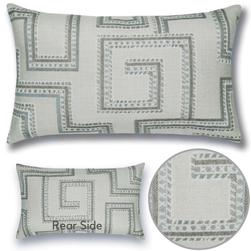 Maze Lumbar Pillow details