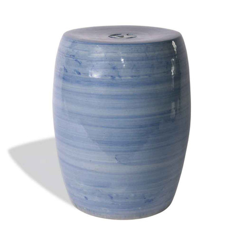 Denim Blue Garden Stool
