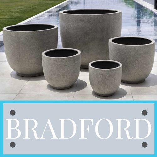 Bradford Campania Lightweight Planter Collection
