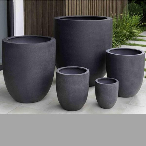 Bradford Charcoal Lightweight Planter Collection