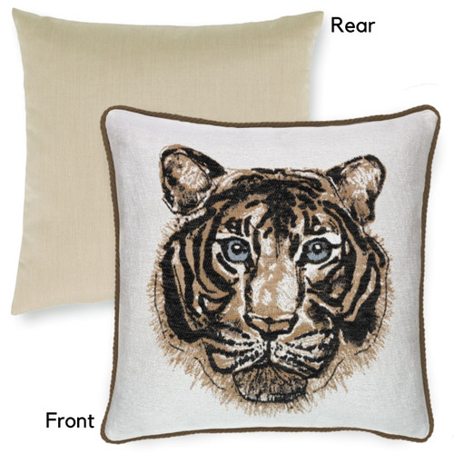Bengal Onyx both side pillow