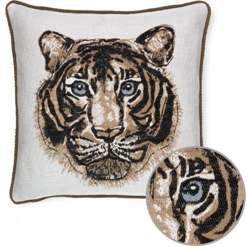 Elaine Smith Bengal Onyx pillow