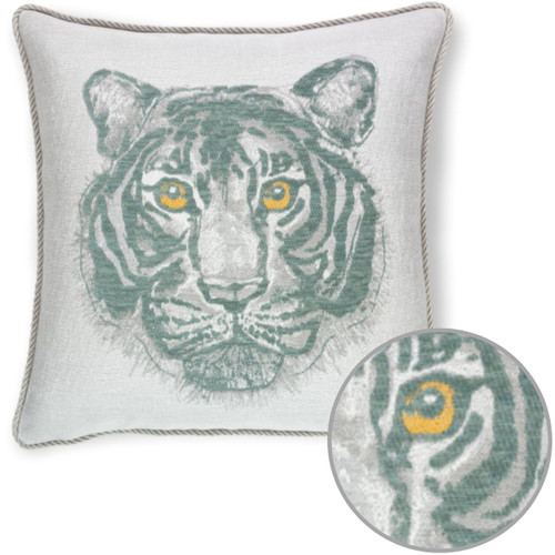 Bengal Mist Corded Pillow Detail