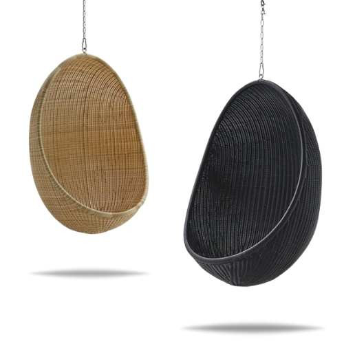Alu Rattan Exterior Hanging Egg Chair Colors
