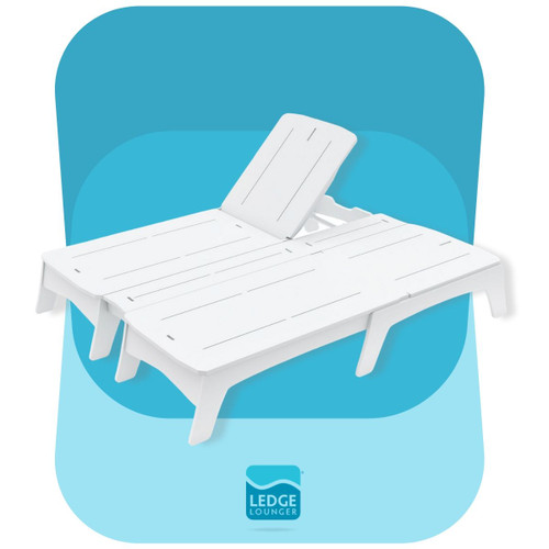 Double Chaise Mainstay in White