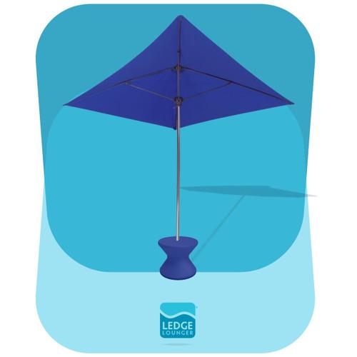 Diamond Umbrella with Optional Side Table