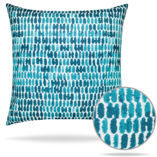 Elaine Smiths Thumbprint Aruba Pillow